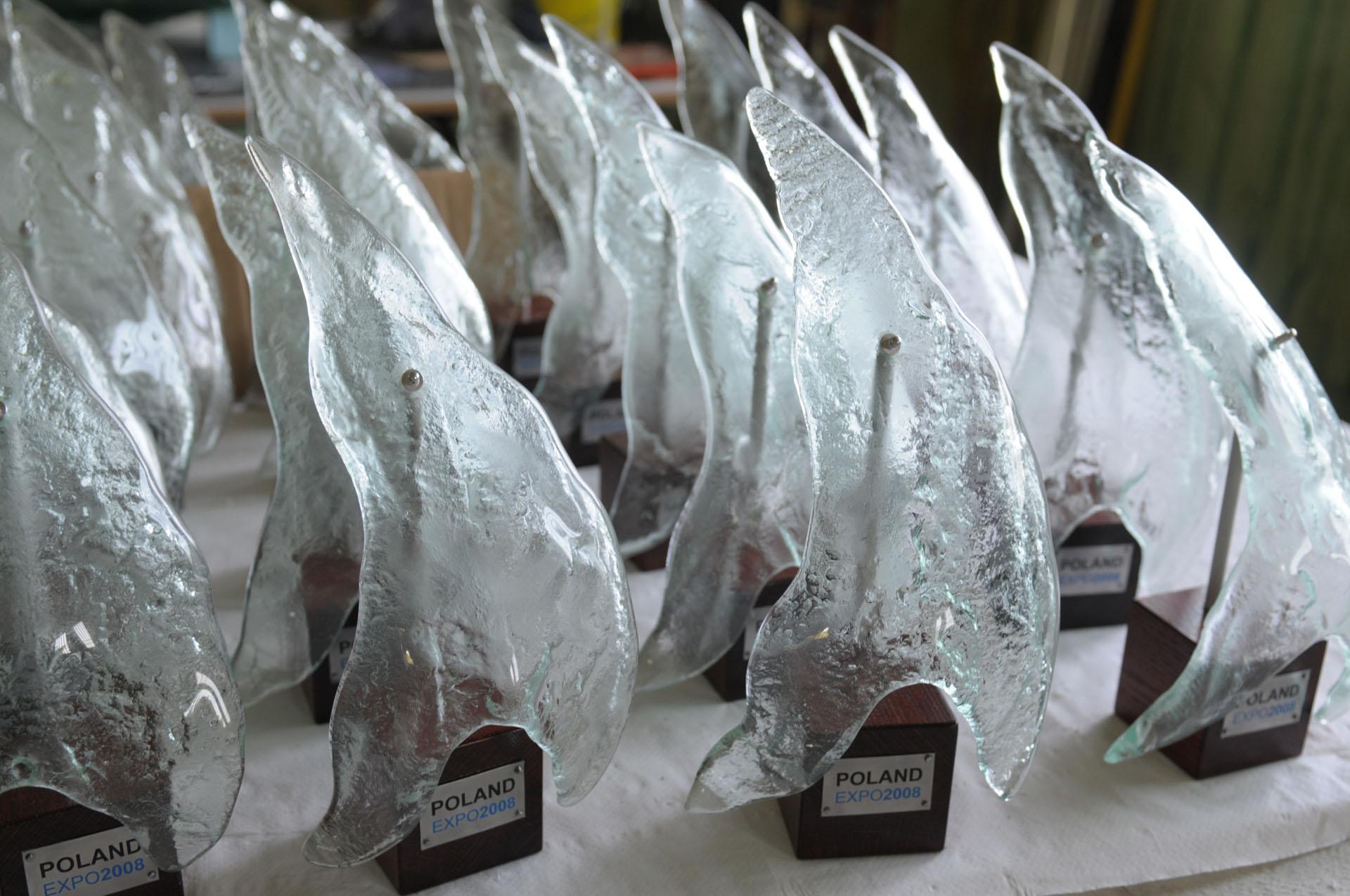 Archiglass Glass Trophy Statuette