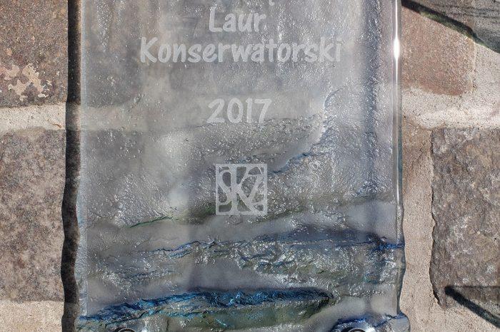 Archiglass Art Glass Plaque Memorial Szklana Artystyczna Tablica Pamiątkowa