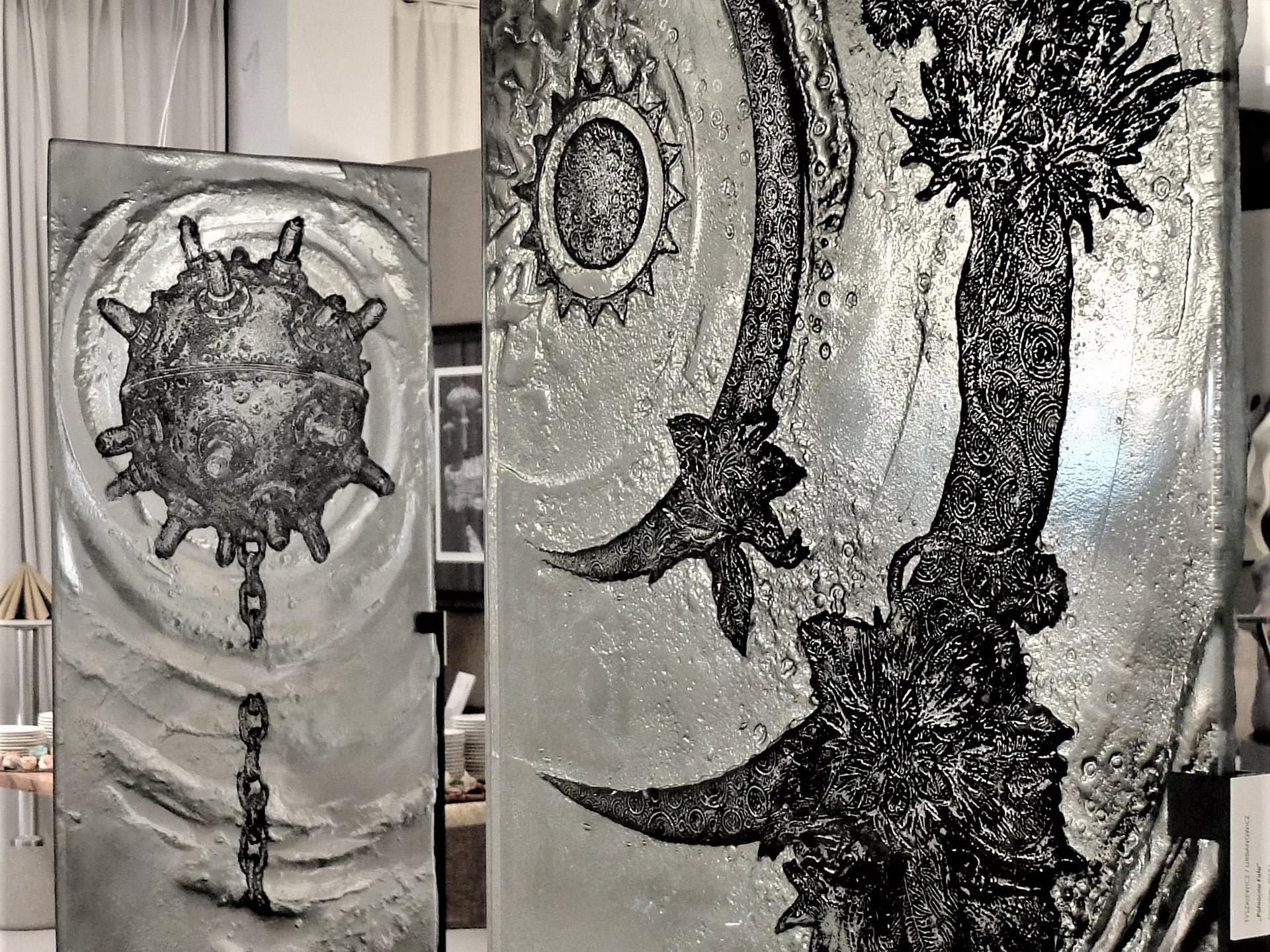 ARCHIGLASS Tomasz Urbanowicz, prof. Przemysław Tyszkiewicz, Grafika w Szkle Artystycznym. Prints in Glass Art.