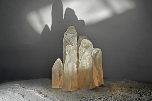 ARCHIGLASS Tomasz Urbanowicz Art Glass Frozen People Sculpture Szkło Artystyczne Ludzie z Lodu Rzeźba