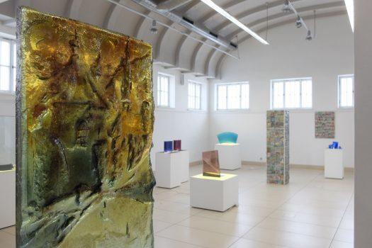 Archiglass Tomasz Urbanowicz Art Glass PION ARCHIGLASSTOSTERON 0102