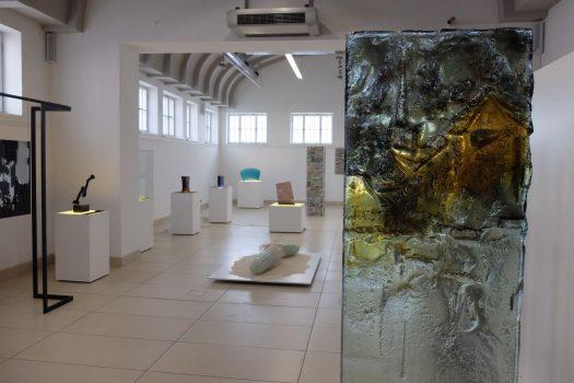 Archiglass Tomasz Urbanowicz Art Glass PION ARCHIGLASSTOSTERON 0202