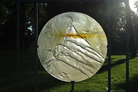 Archiglass Art Glass Koło 80512 Dolomiti Sella Ronda